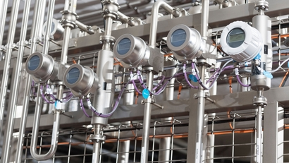 Mixing facility in a beverage plant