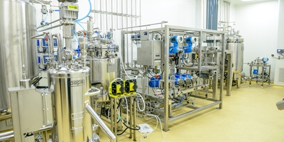 Insulin manufacturing plant